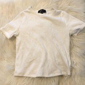 White topshop women's shirt